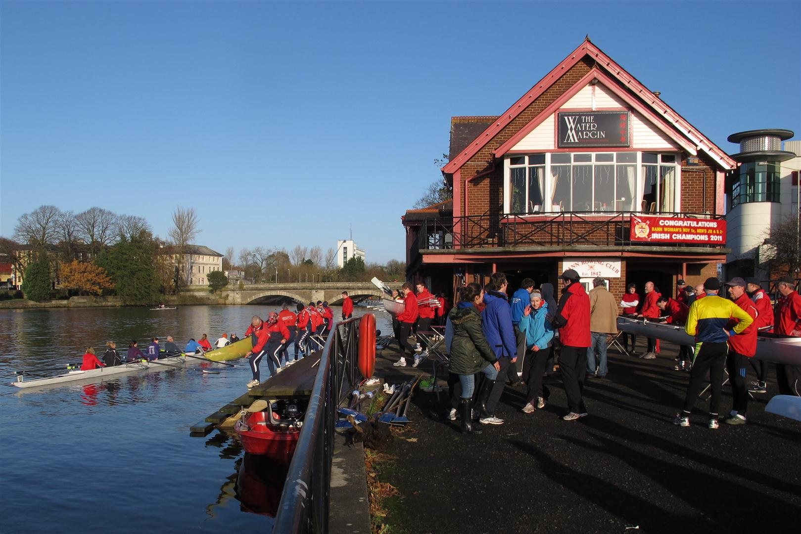 Crews Launching Bann Head 2011