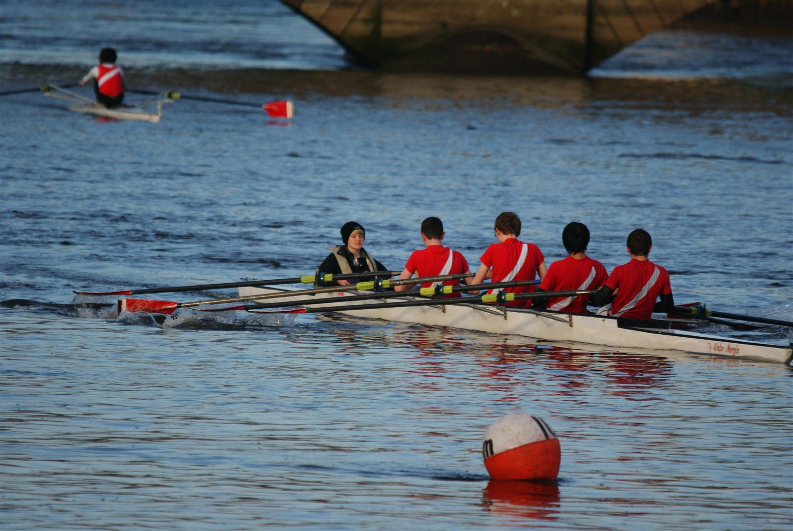 Bann's J16 4x with Frank in charge