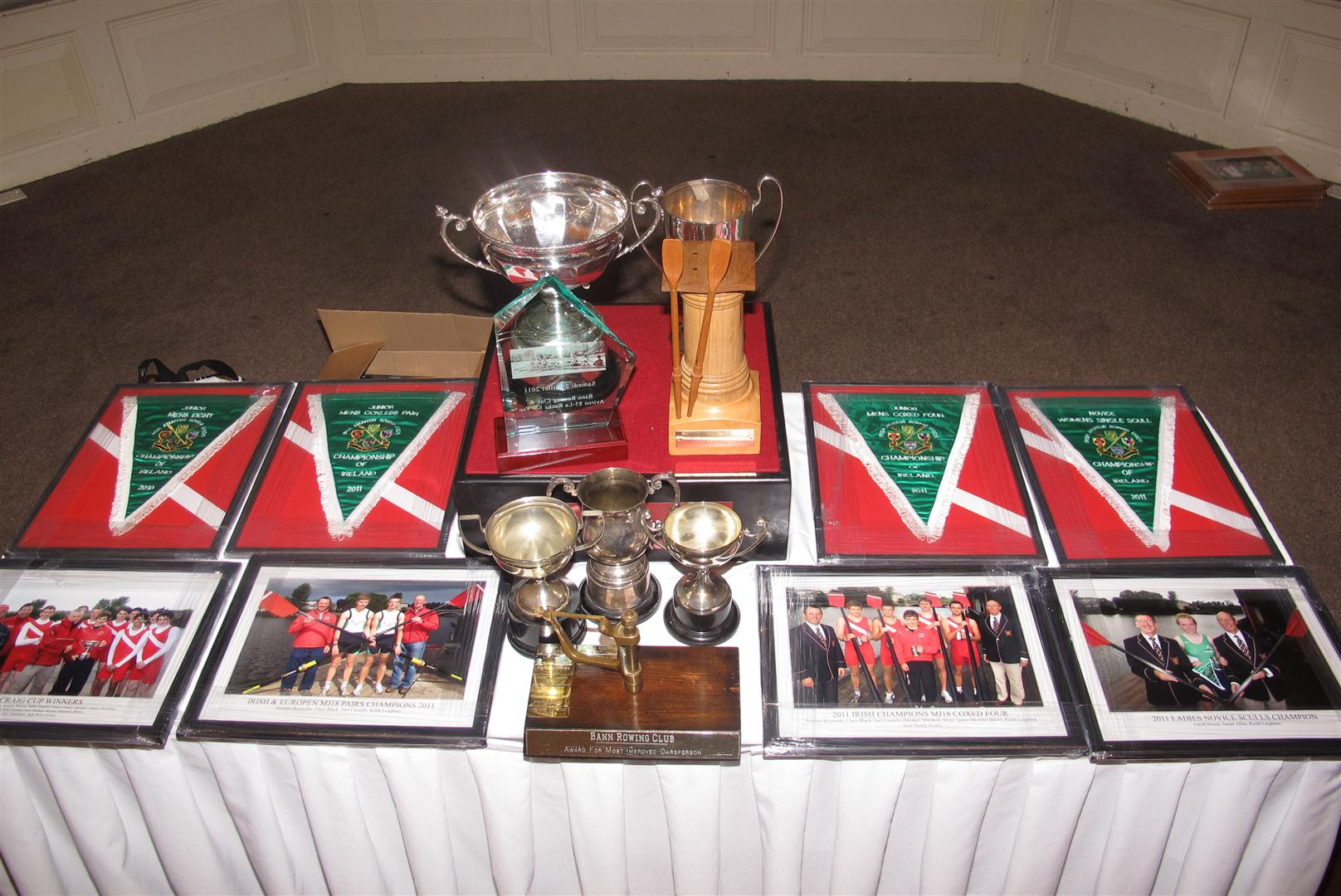 2011 awards table