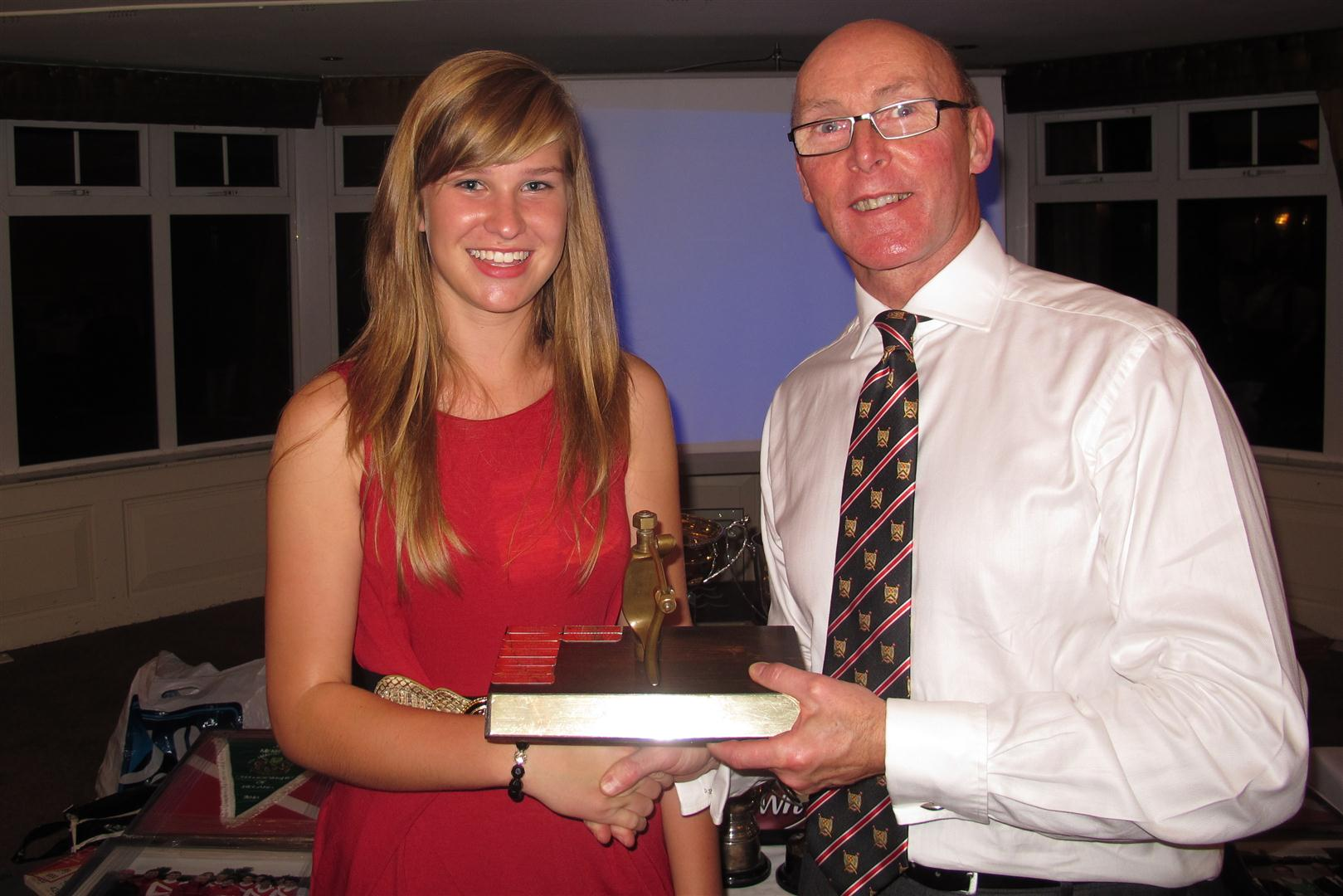 Brook Edgar wins most improved rower
