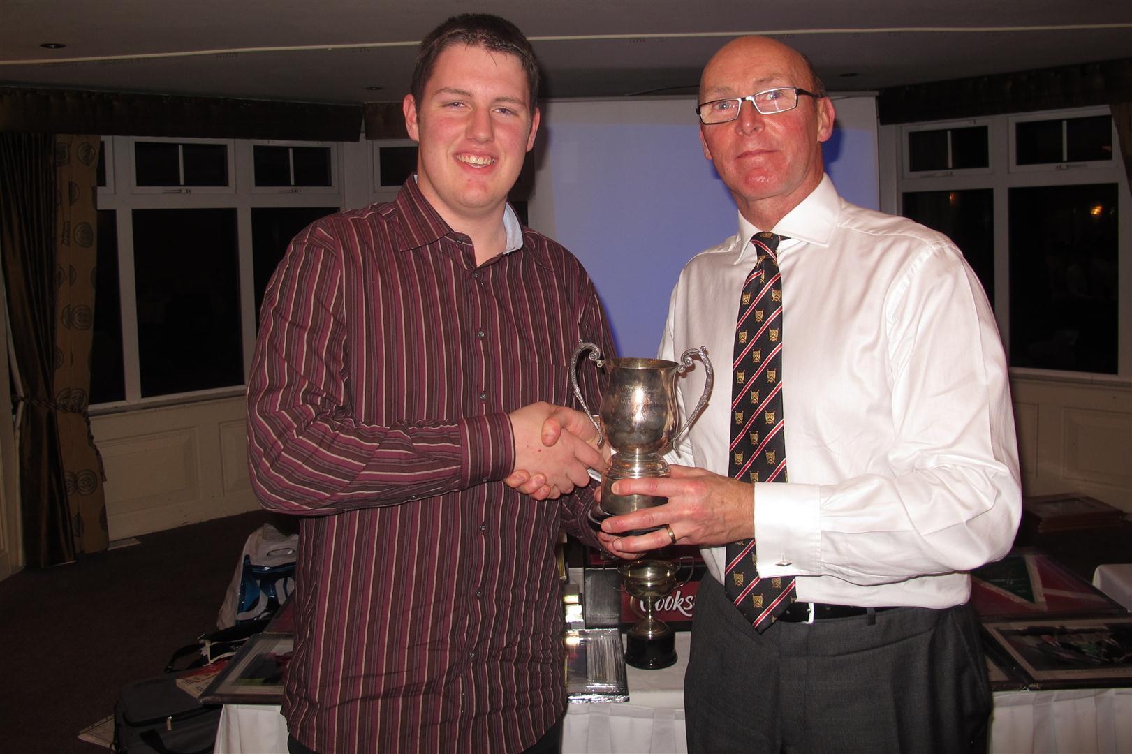 Matthew Leighton club person of the year