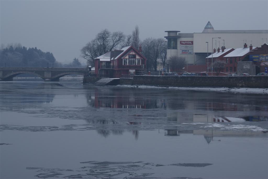 A frozen Bann December 2009