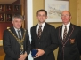 Bann honoured at Mayor's reception 2011