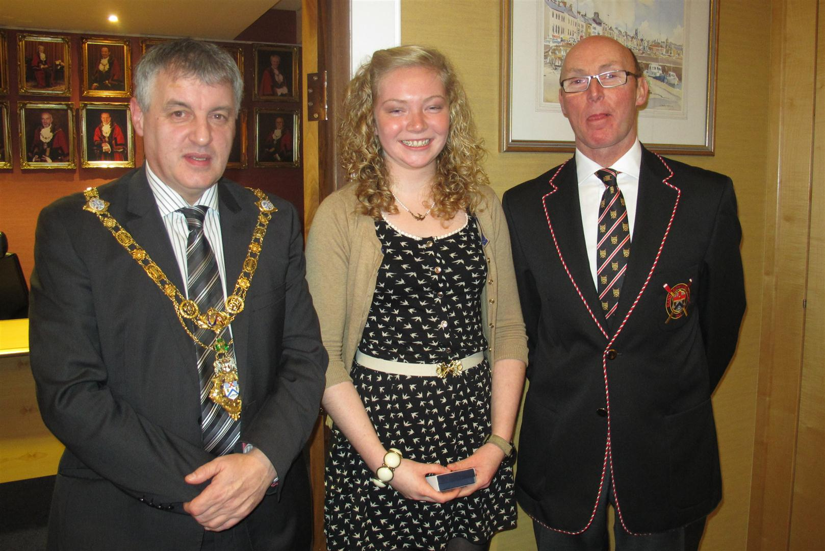 The Mayor, Club Captain and Sarah