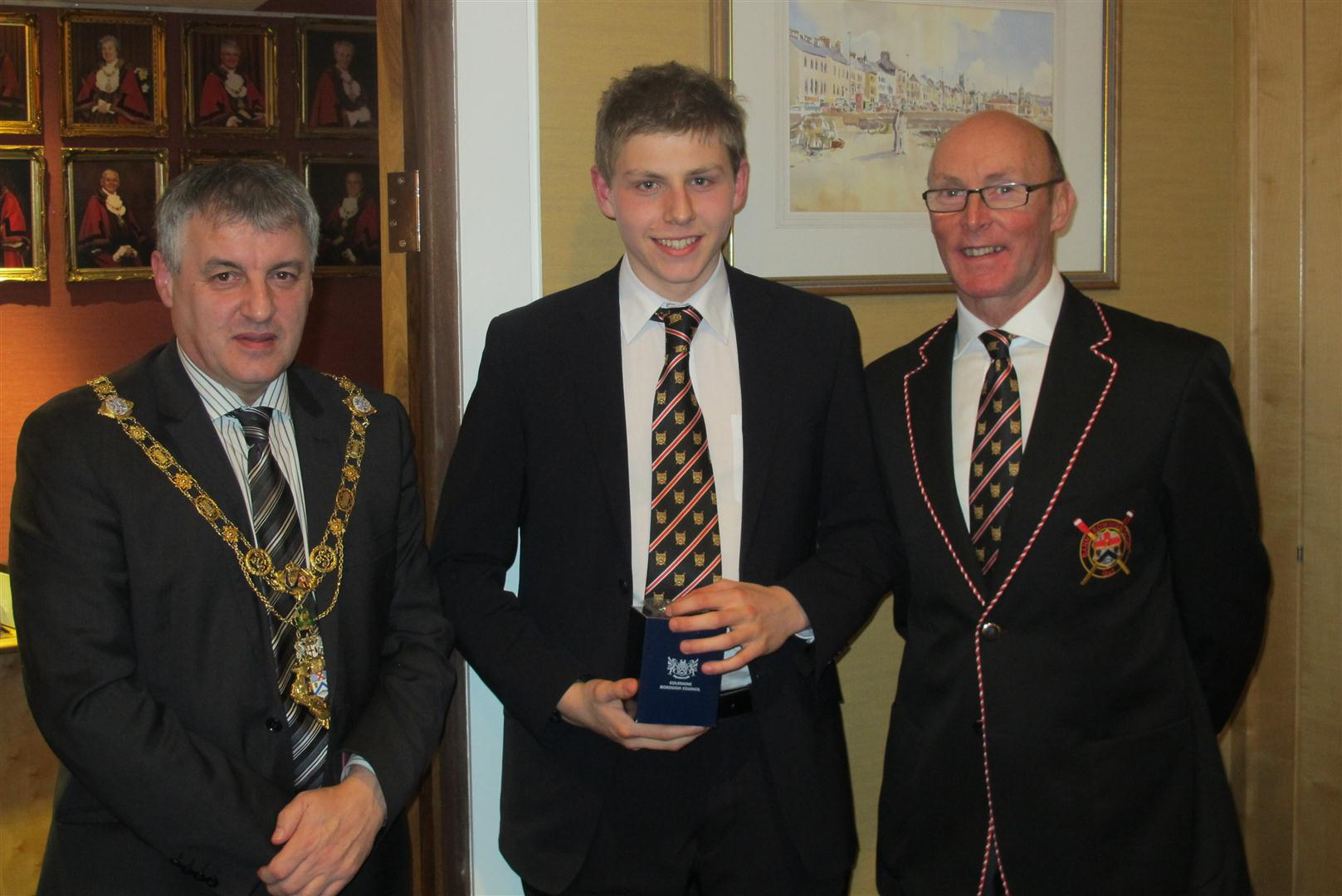 The Mayor, Club Captain and Chris