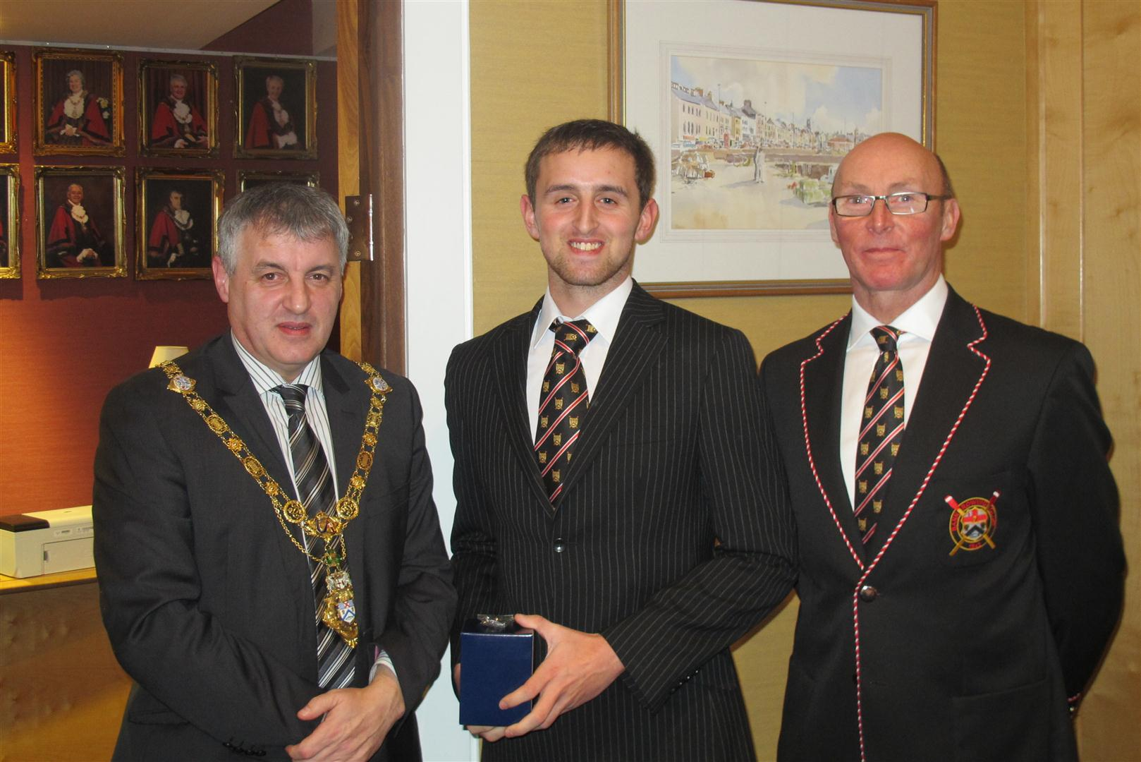 The Mayor, Club Captain and James