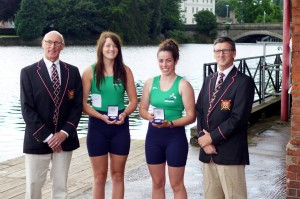 captain keith leighton, home international gold medalists katie shirlow and dineka maguire, coach geoff bones